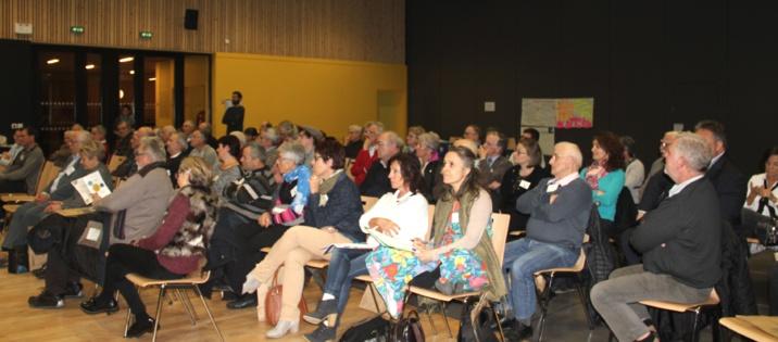 Le 22 novembre 2018, événement sur l'Europe à la salle du Vourlat à Messimy