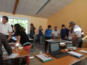 atelier trame verte et bleue, le 7 juin 2016