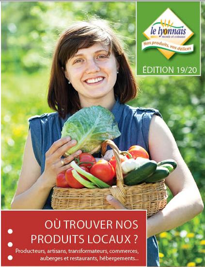 """""""Le Lyonnais Monts et Coteaux"""" guide 2019-2020"""