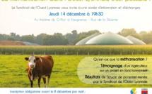 Soirée d'information sur la méthanisation dans l'Ouest Lyonnais
