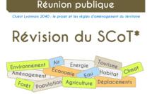 Présentation du projet de SCoT à la population